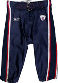 Football Collectibles:Uniforms, 2008 Randy Moss Game Worn New England Patriots Pants - Pho...