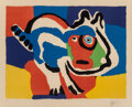 Prints & Multiples, Karel Appel (1921-2006). Cat, 1975. Lithograph in colors on wove paper. 23-1/2 x 29 inches (59.7 x 73.7 cm) (sight). Ed....