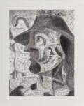Prints & Multiples, George Condo (b. 1957). Untitled (Man), 1989. Etching on paper. 18 x 14-1/2 inches (45.7 x 36.8 cm) (sheet). Ed. 35/55. ...