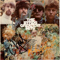 Music Memorabilia:Autographs and Signed Items, Byrds: The Byrds Greatest Hits LP Cover Signed By All Four, David Crosby, Chris Hillman, Roger McGuinn, and Michae...