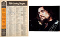 """Music Memorabilia:Autographs and Signed Items, Waylon Jennings: Signed Billboard Hot Country Singles Chart for """"Amanda"""" (June 30, 1979) With Large Color Photo...."""