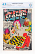 Silver Age (1956-1969):Superhero, Justice League of America #1 (DC, 1960) CBCS VG+ 4.5 Off-white to white pages....