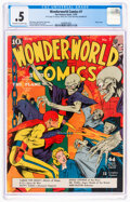 Golden Age (1938-1955):Superhero, Wonderworld Comics #7 Incomplete (Fox, 1939) CGC PR 0.5 Off-white to white pages....