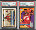 Basketball Cards:Singles (1980-Now), 2003-04 LeBron James PSA Graded Cards, Lot of 2.... (Total: 2 items)