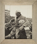 Football Collectibles:Photos, 1961 Vince Lombardi Original NFL Championship Game Vintage Oversized Photograph (Finest Extant!) - Gifted by Lombardi to Forme...