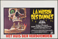 "Movie Posters:Horror, The Legend of Hell House (20th Century Fox, 1973). Rolled, Very Fine+. Belgian (14.25"" X 21.5""). Horror.. ..."