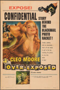 "Movie Posters:Bad Girl, Over-Exposed (Columbia, 1956). Fine+ on Chartex. One Sheet (27"" X 41""). Bad Girl.. ..."