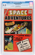 Silver Age (1956-1969):Science Fiction, Space Adventures #33 (Charlton, 1960) CGC VG 4.0 Off-white to white pages....