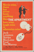 """Movie Posters:Academy Award Winners, The Apartment (United Artists, 1960). Folded, Fine/Very Fine. One Sheet (27"""" X 41""""). Academy Award Winners.. ..."""