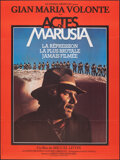 """Movie Posters:Foreign, Letters from Marusia (Le Cinema Mexicain, 1975). Folded, Very Fine. French Grande (46"""" X 61.5""""). Foreign.. ..."""