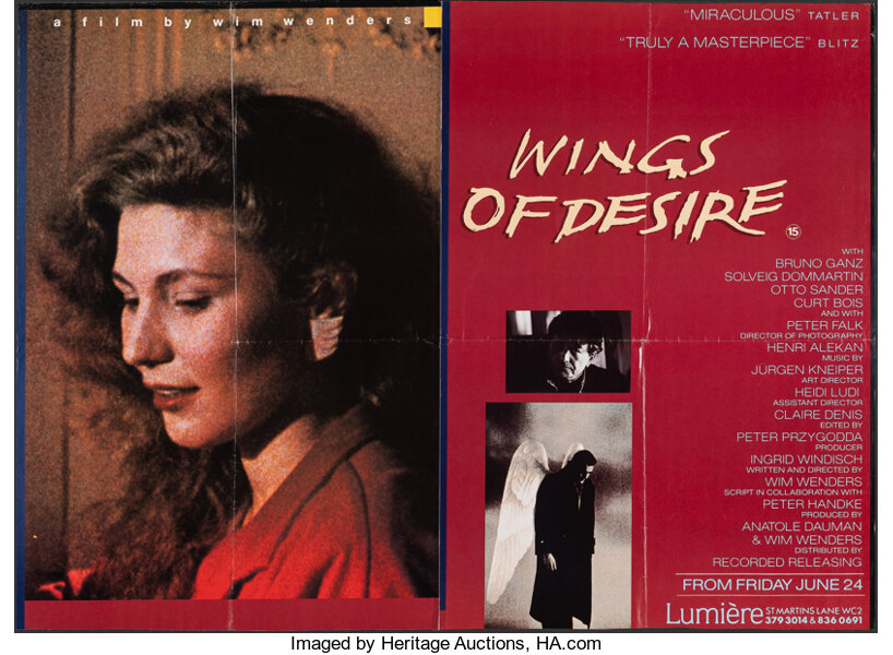 Wings of Desire & Other Lot (Orion, 1988). Folded, Overall: Fine-.   Lot  #52420   Heritage Auctions