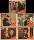 "Movie Posters:Mystery, Doomed to Die (Monogram, 1940). Overall: Good/Very Good. Lobby Cards (5) (11"" X 14""). Mystery.. ... (Total: 5 Items)"