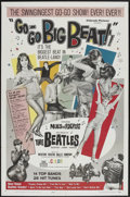 "Movie Posters:Rock and Roll, Go-Go Big Beat (El Dorado Films, 1965). One Sheet (27"" X 41""). Rock and Roll...."