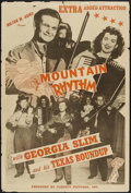 "Movie Posters:Short Subject, Mountain Rhythm (Astor, 1949). One Sheet (28"" X 42""). ShortSubject...."