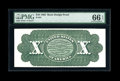 Large Size:Demand Notes, Fr. 94-95b Hessler UNL $10 1862-1863 Legal Tender Back Proof PMGGem Uncirculated 66 EPQ. ...