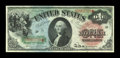Large Size:Legal Tender Notes, Fr. 18 $1 1869 Legal Tender Choice About New....