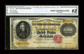 Large Size:Gold Certificates, Fr. 1225 $10000 1900 Gold Certificate CGA Crisp Uncirculated 62....