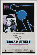 "Movie Posters:Rock and Roll, Give My Regards to Broad Street (20th Century Fox, 1984). One Sheet (27"" X 41""). Rock and Roll...."