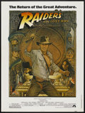 "Movie Posters:Adventure, Raiders of the Lost Ark (Paramount, R-1982). Poster (30"" X 40"").Adventure...."