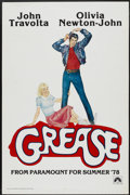 "Movie Posters:Musical, Grease (Paramount, 1978). One Sheet (27"" X 41"") Advance. Musical...."
