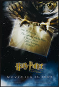"""Movie Posters:Fantasy, Harry Potter and the Sorcerer's Stone (Warner Brothers, 2001). One Sheet (27"""" X 41"""") Advance. Fantasy...."""