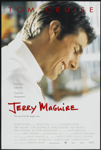 "Jerry Maguire (Tri-Star, 1996). One Sheet (27"" X 41"") DS. Drama"