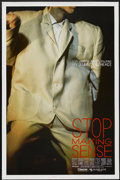 "Movie Posters:Rock and Roll, Stop Making Sense (Island Alive, 1984). One Sheet (27"" X 41""). Rockand Roll...."
