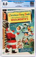 Golden Age (1938-1955):Humor, Woolworth's Christmas Story Book #nn (Western, 1952) CGC VF 8.0 White pages....
