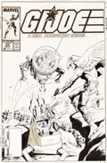 Original Comic Art:Covers, Mike Zeck and Bob McLeod G.I. Joe, A Real Am...