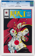 Modern Age (1980-Present):Superhero, Rai #1 (Valiant, 1992) CGC NM/MT 9.8 White pages....