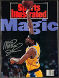 Basketball Collectibles:Publications, 1994 Magic Johnson Signed Sports Illustrated....