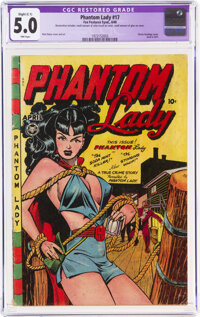 Phantom Lady #17 (Fox Features Syndicate, 1948) CGC Apparent VG/FN 5.0 Slight (C-1) Pink pages
