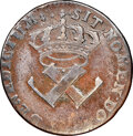 French Colonies, French Colonies: Louis XV 9 Deniers 1721-H VF25 Brown NGC,...