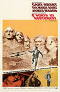 """Movie Posters:Hitchcock, North by Northwest (MGM, R-1966). Folded, Very Fine. One Sheet (27"""" X 41"""").. ..."""