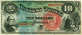 Large Size:Legal Tender Notes, Fr. 96 $10 1869 Legal Tender PMG Choice Uncirculated 64.. ...