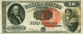 Large Size:Legal Tender Notes, Fr. 160 $50 1880 Legal Tender PMG Very Fine 25.. ...