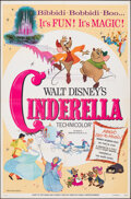 "Movie Posters:Animation, Cinderella (Buena Vista, R-1973). Folded, Very Fine. One Sheet (27"" X 41""). Animation.. ..."