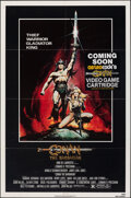 "Movie Posters:Action, Conan the Barbarian (Universal, 1982). Folded, Fine/Very Fine. One Sheet (27"" X 41"") Renato Casaro Artwork. Action.. ..."