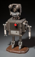 Collectible, Scratch-Built Spare Parts Hobby Robot. 14-1/8 x 9 x 4-1/2 inches (35.9 x 22.9 x 11.4 cm). ...