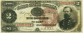 Large Size:Treasury Notes, Fr. 354 $2 1890 Treasury Note PMG Very Fine 30.. ...