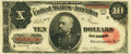 Large Size:Treasury Notes, Fr. 371 $10 1891 Treasury Note PMG Choice Very Fine 35.. ...