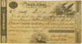 United States - Act of March 4, 1814 $100 5-2/5%Treasury Note. Hessler X74C, Fr. TN-6. Double-Signature Remainder. PMG C...