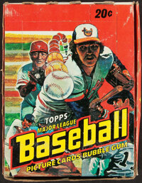 1978 Topps Baseball Wax Box With 36 Unopened Packs