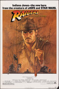 """Movie Posters:Adventure, Raiders of the Lost Ark (Paramount, 1981). Rolled, Fine/Very Fine. One Sheet (27"""" X 41"""") Richard Amsel Artwork. Adventure.. ..."""
