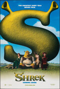 """Movie Posters:Animation, Shrek (DreamWorks, 2001). Rolled, Very Fine/Near Mint. One Sheet (27"""" X 40"""") DS Advance. Animation.. ..."""