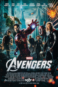 "The Avengers (Paramount, 2012). Rolled, Very Fine+. One Sheet (27"" X 40"") DS Advance. Science Fiction"