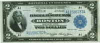 Fr. 749 $2 1918 Federal Reserve Bank Note PMG Choice About Uncirculated 58 EPQ