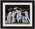 Autographs:Photos, 2009 New York Yankees Multi Signed World Series Celebration Photograph. ...