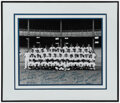 Autographs:Photos, Circa 1960s New York Yankees Reunion Multi-Signed Team Photograph. ...