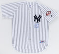 Autographs:Jerseys, Aaron Boone Signed New York Yankees Jersey - With 2003 ALCS Inscription....